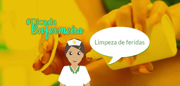 LIMPEZA DE FERIDAS